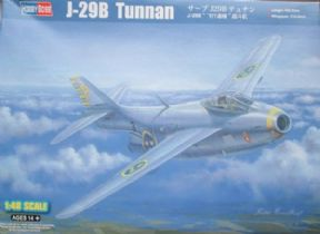 HBB81746 1/48 SAAB J-29B Tunnan Flying Barrel